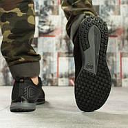 Кроссовки мужские 10141, BaaS Sport, черные ( размер 41 - 26,3см ), фото 3