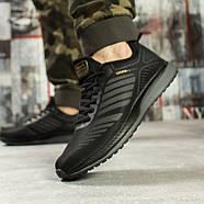 Кроссовки мужские 10141, BaaS Sport, черные ( размер 41 - 26,3см ), фото 4