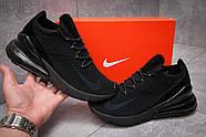 Кроссовки мужские 13421, Nike Air Max 270, черные ( размер 41 - 25,9см ), фото 2