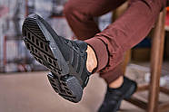Кроссовки мужские 15321, Adidas POD - S3.1, черные ( размер 44 - 28,5см ), фото 5