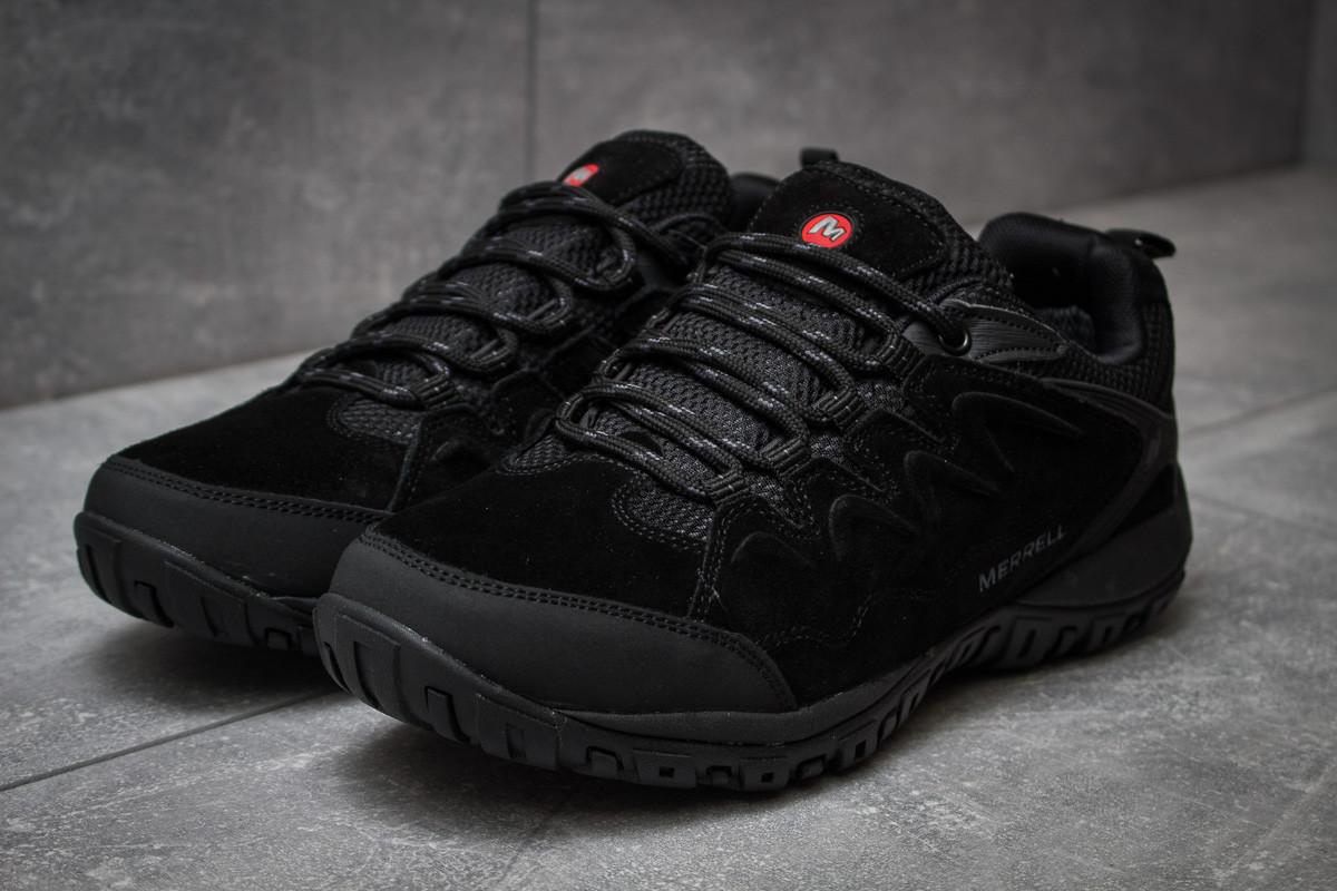 Кроссовки мужские 14341, Merrell, черные ( размер 41 - 26,0см )