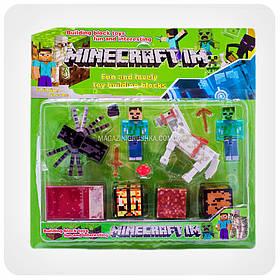 Набор фигурок «Minecraft» (Майнкрафт, 12 предметов)