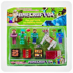 Набор фигурок «Minecraft» (Майнкрафт, 13 предметов)