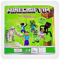 Набор фигурок «Minecraft» (Майнкрафт, 13 предметов), фото 2
