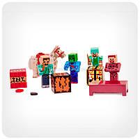 Набор фигурок «Minecraft» (Майнкрафт, 13 предметов), фото 3