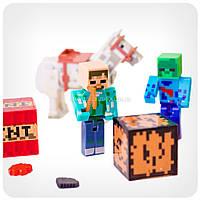 Набор фигурок «Minecraft» (Майнкрафт, 13 предметов), фото 4