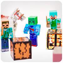 Набор фигурок «Minecraft» (Майнкрафт, 13 предметов), фото 5