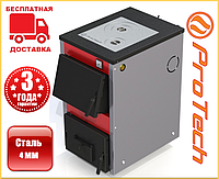 Дровяной котел с плитой «ProTech» D Luxe ТТП 12, 15, 18 кВт