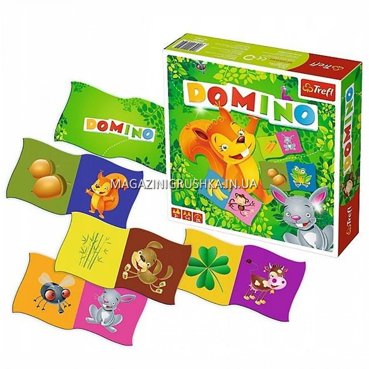 Настольная игра детское Домино Trefl (01610)
