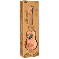 Детская Гитара 66-03AB струны 4 шт, медиатор