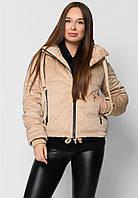 Короткая утепленная женская куртка, фото 1