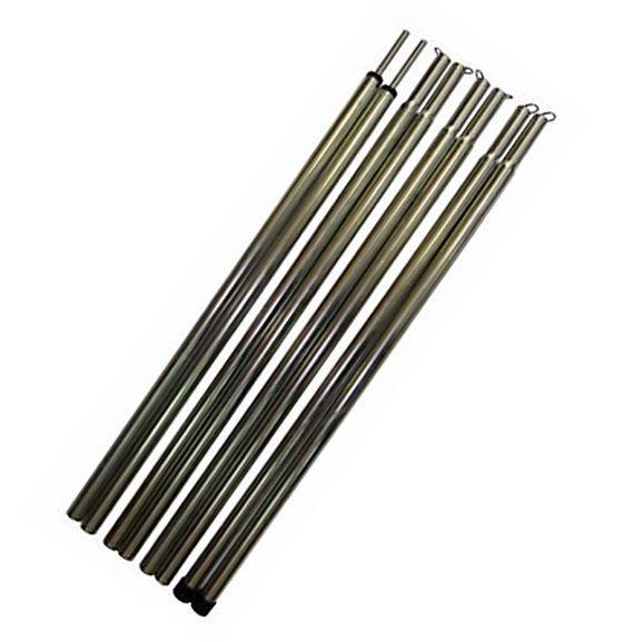 Комплект стоек стальных для тента Tramp (2шт по 230 см.)
