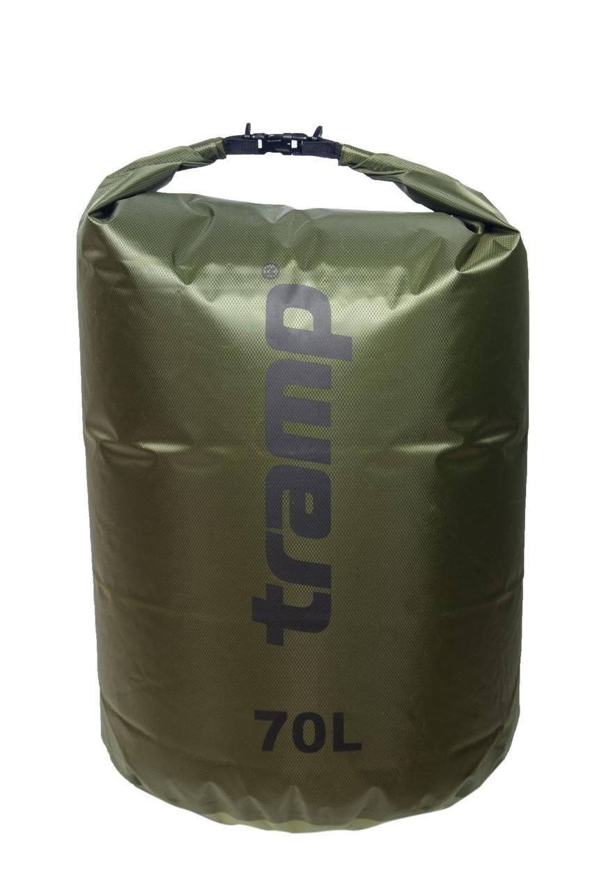 Гермомешок Tramp PVC Diamond Rip-Stop оливковый 70л