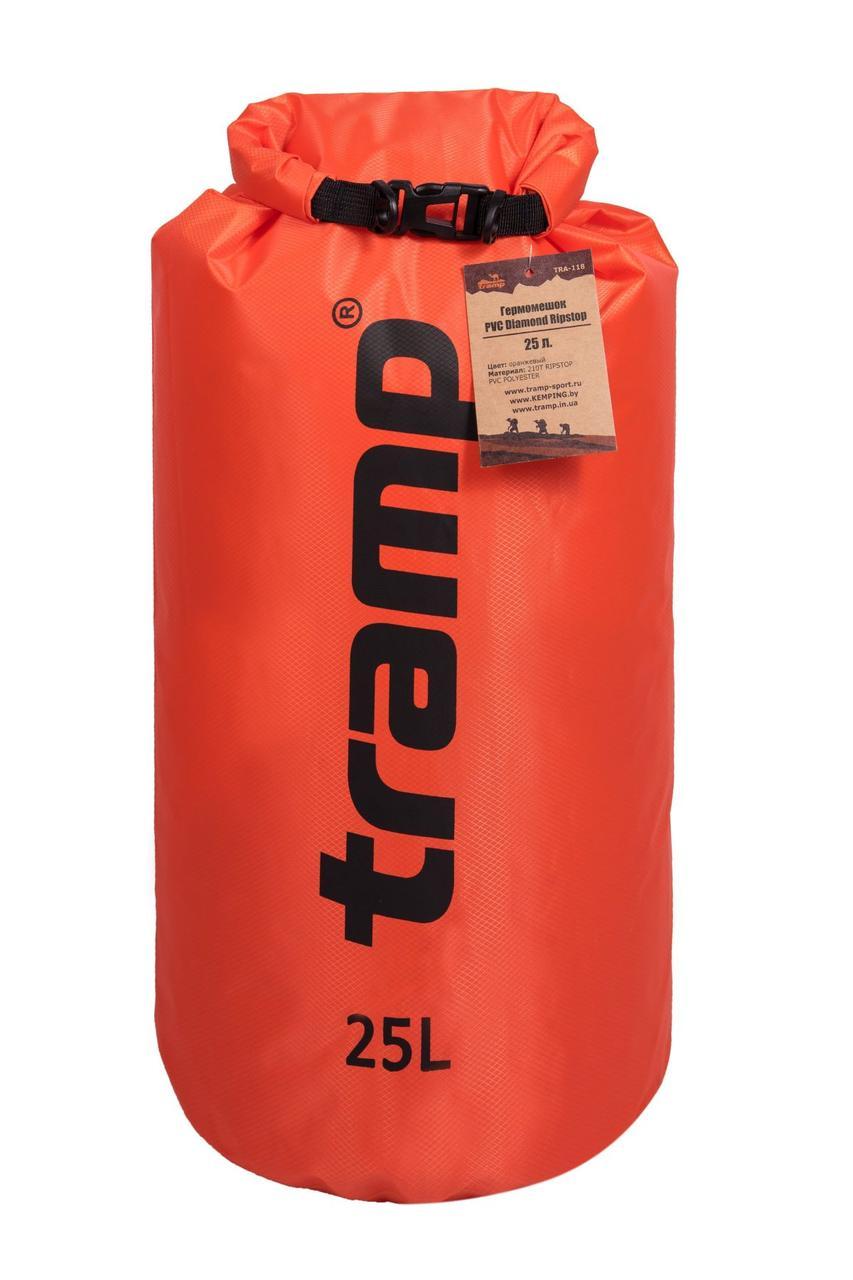 Гермомешок Tramp PVC Diamond Rip-Stop оранжевый 25 л