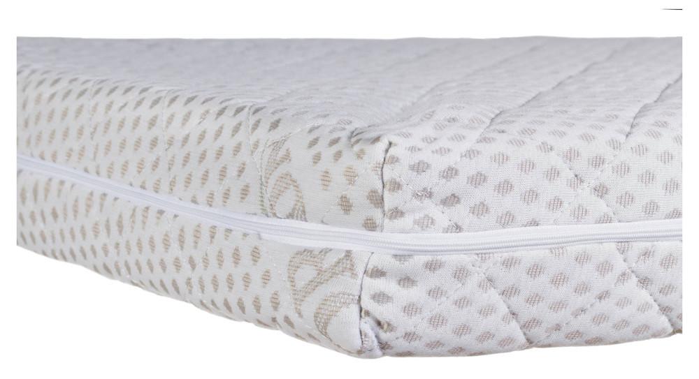 Матрас Солодких Снів Organic Cotton Comfort Elite - 10 см. (кокос, полиуретан, кокос)  белый