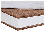 Матрац Солодких Снів Tempur Comfort Premium - 12 див. (кокос, поліуретан, кокос) білий, фото 3