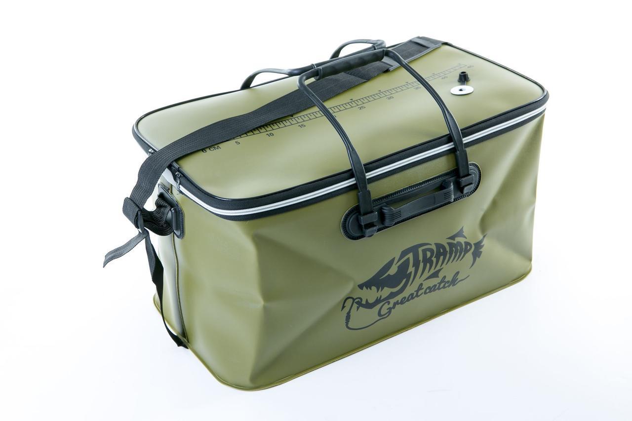 Сумка рибальська Tramp Fishing bag EVA Avocado - M