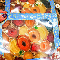 """Набор мармелада в виде фруктов на пектине fruit jellini. """"Сладкий мир"""", 365 грамм"""