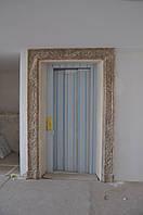 Отделка дверных проемов мрамором