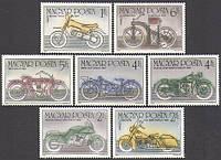 Венгрия 1985 мотоциклы - MNH XF