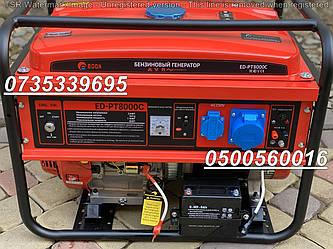 Бензиновый электрогенератор Edon ED-PT 8000C 8 kW медная обмотка