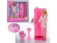 Набор кукла DEFA 8215 'Ванная'