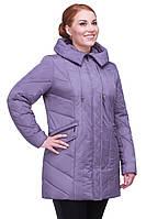 Зимняя женская куртка большого размера