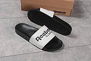 Шлепанцы мужские 16271, Reebok, черные ( размер 44 - 28,5см ), фото 5
