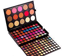 Палетка для макияжа 159 цветов МАС , тени румяна помады