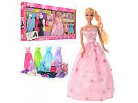 Кукла 'Дефа с нарядами' 8027