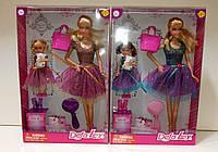 Кукла DEFA 8304 с дочкой и аксессуарами 2 вида
