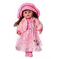 Кукла «Маленька пані» M3508. Песня, загадка. 45 см