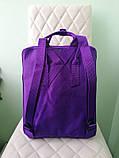 Стильный рюкзак канкен фиолетовый детский на девочку Fjallraven Kanken classic, фото 2