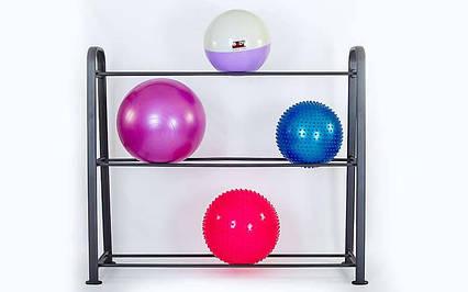 Подставка (стойка) для фитболов Zelart, фото 2