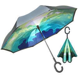 Зонт обратного сложения, 8 спиц, MH-2713-12