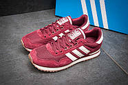 Кроссовки мужские 11484, Adidas, бордовые ( размер 44 - 27,7см ), фото 2