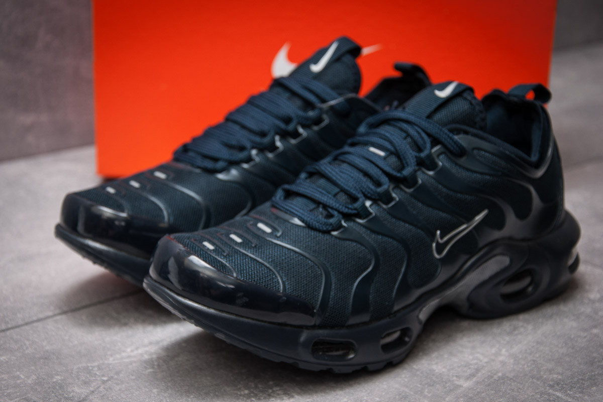 Кроссовки мужские 12971, Nike Air Tn, темно-синие ( размер 44 - 28,0см )