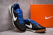 Кроссовки мужские 13951, Nike Tiempo, черные ( размер 37 - 22,5см ), фото 3