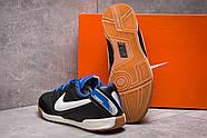 Кроссовки мужские 13951, Nike Tiempo, черные ( размер 37 - 22,5см ), фото 4