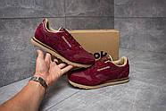 Кроссовки мужские 14614, Reebok Classic, бордовые ( размер 41 - 25,6см ), фото 2