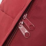 Молодежный женский бордовый рюкзак-сумка канкен Fjallraven Kanken classic, фото 10