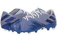 Кроссовки/Кеды adidas Nemeziz 19.2 FG Footwear White/Team Royal Blue/Team Royal Blue, фото 1