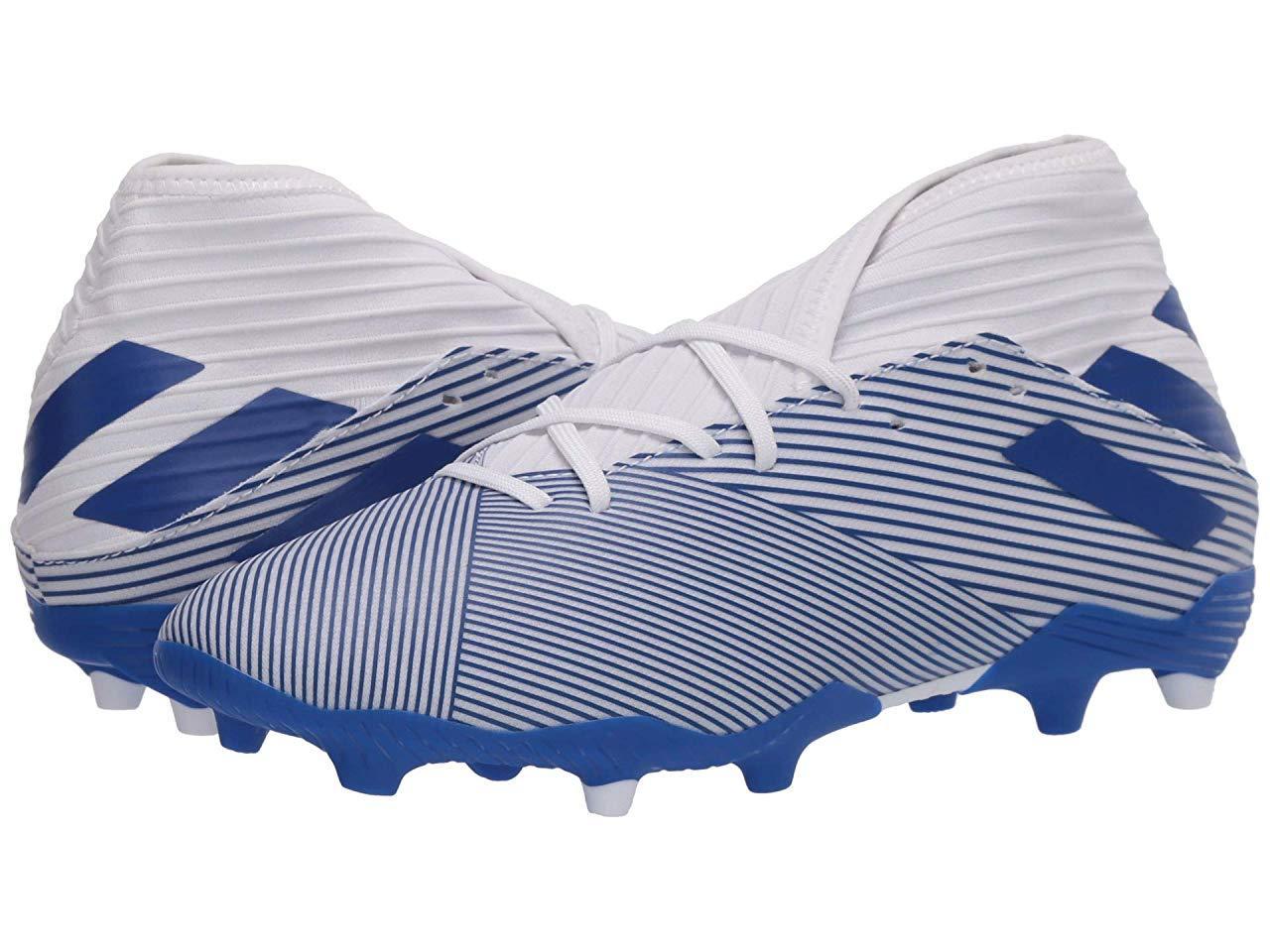 Кроссовки/Кеды adidas Nemeziz 19.3 FG Footwear White/Team Royal Blue/Team Royal Blue