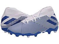 Кроссовки/Кеды adidas Nemeziz 19.3 FG Footwear White/Team Royal Blue/Team Royal Blue, фото 1