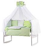 Детская постель Babyroom Bortiki lux-08 stars, фото 2