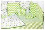 Детская постель Babyroom Bortiki lux-08 stars, фото 3