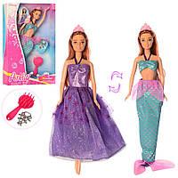 Кукла 99111 (48шт) русалка, 31см, наряд, расческа, украшения, в кор-ке, 20-32,85-6см Н