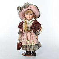 Кукла X15108 (24шт) 30см, на подставке, 3 вида, в кор-ке, 11-31-7см Н