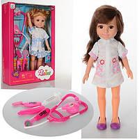 Кукла 89008 (36шт) 31см, набор доктора, 2 вида, в кор-ке, 23,5-35-8см Н