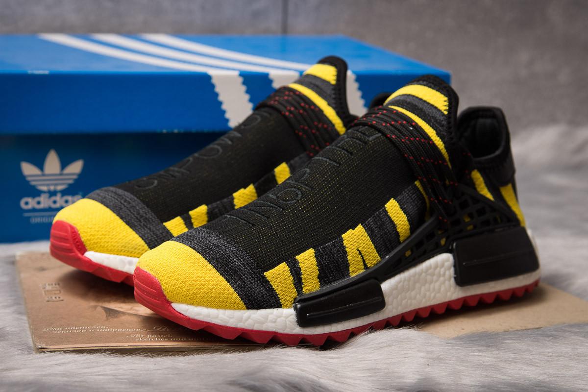Кроссовки мужские 14923, Adidas Pharrell Williams, черные ( размер 42 - 27,0см )